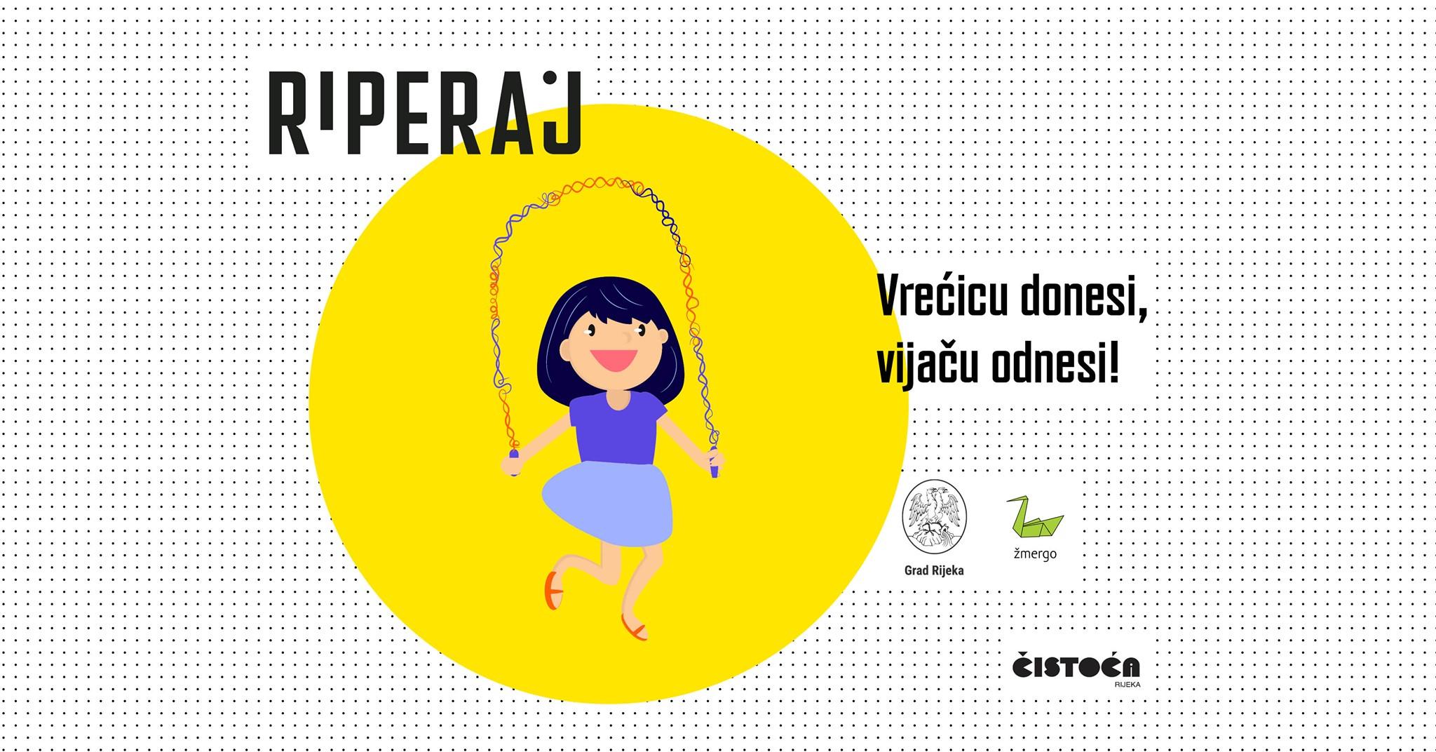 Poziv na besplatnu radionicu izrade vijača od plastičnih vrećica u Riperaju