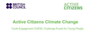 "Žmergovka na treningu za trenere programa ""Active Citizens"" British Councila za nadolazeći COP26"