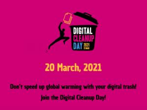 Globalna akcija digitalnog čišćenja – 20. ožujka 2021.