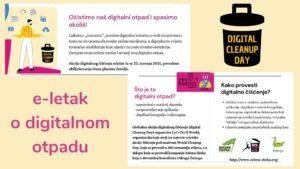 """Digitalni letak sa savjetima za """"zelene"""" online navike"""
