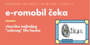 "E-romobil čeka, vlasnika najboljeg ""zelenog life-hack-a""!"