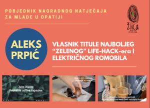 """Imamo pobjednika natječaja """"Zeleni life-hack!"""""""