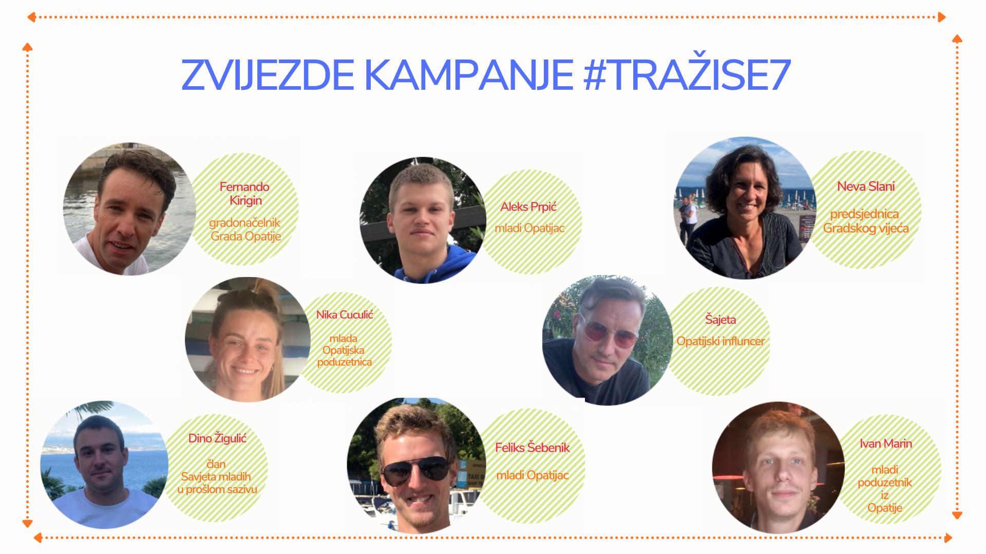 Zvijezde kampanje #tražise7