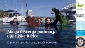 Poziv na sudjelovanje u novoj volonterskoj akciji čišćenja podmorja opatijske lučice
