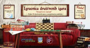 Igraonica društvenih igara u udruzi Kulturni front