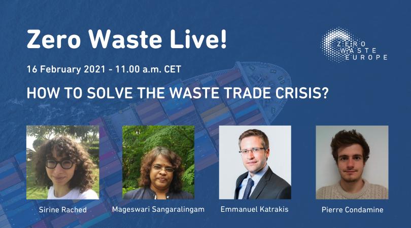 """""""Kako riješiti krizu trgovine otpadom?""""(WEBINAR / 16.2.2021.)"""