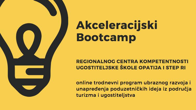 Otvorene su prijave za akceleracijski Bootcamp u Regionalnom centru kompetentnosti Ugostiteljske škole Opatija