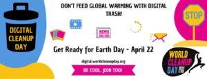 Akcija digitalnog čišćenja za Dan planeta Zemlje – 22.4.2021.