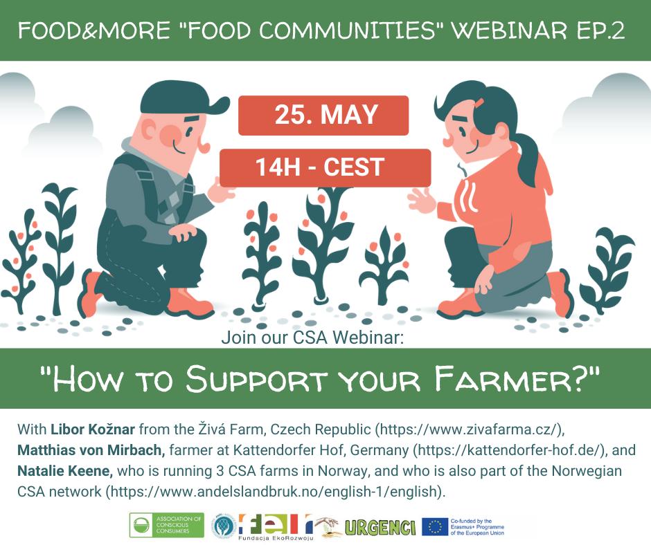 [ WEBINAR ] Kako podržati poljoprivrednike koji proizvode tvoju hranu? / 25.5.2021.