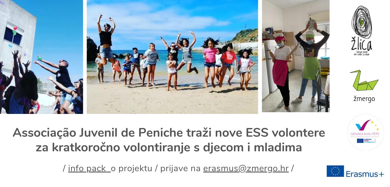 Associação Juvenil de Peniche traži nove ESS volontere koji će se zaljubiti u Portugal