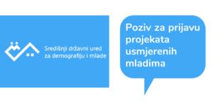 Natječaj za projekte usmjerene prema mladima